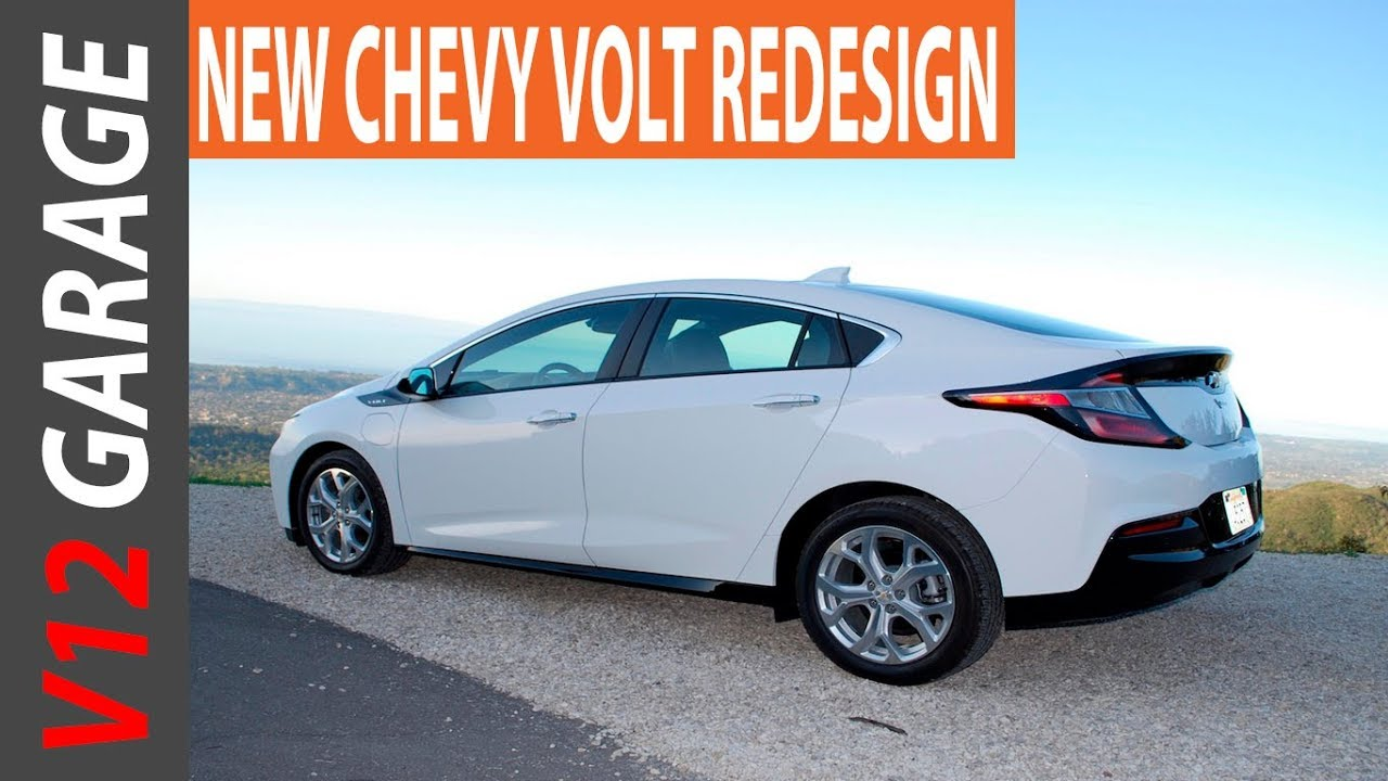 New 2018 Chevrolet Volt Redesign Specs And Release