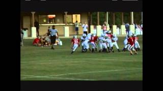 Biggest 8 Yr old youth football hits!.wmv