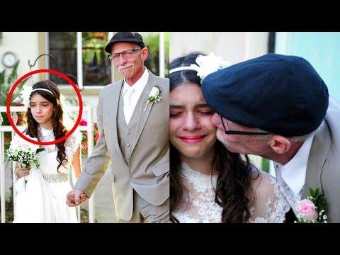 عجوز يبلغ من العمر 62 عام تزوج فتاة عمرها 11 عام.. والسبب غريب !!