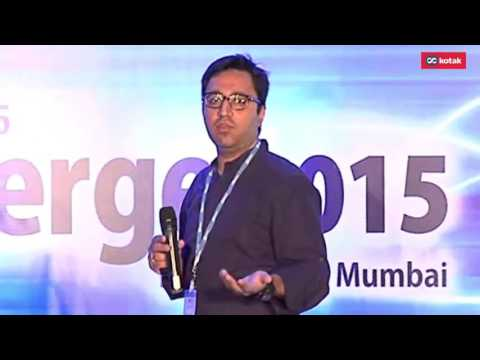 E merge2015 – Kotak Institutional Equities Conference Ashneer Grover Head of Finance, Grof