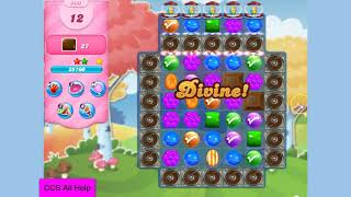 Candy Crush Saga Level 3435 NO BOOSTERS Cookie