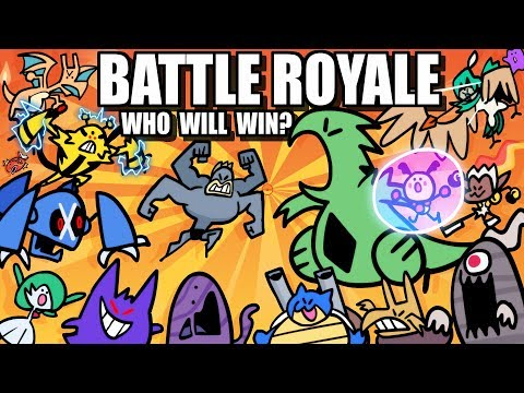Pokemon Battle Royale ANIMATED (Loud Sound Warning) 💥 Collab With @Lockstin & Gnoggin