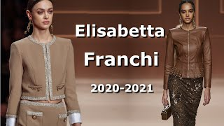 Elisabetta Franchi Осень 2020 Зима 2021 Мода Milan Одежда и аксессуары Show FW20
