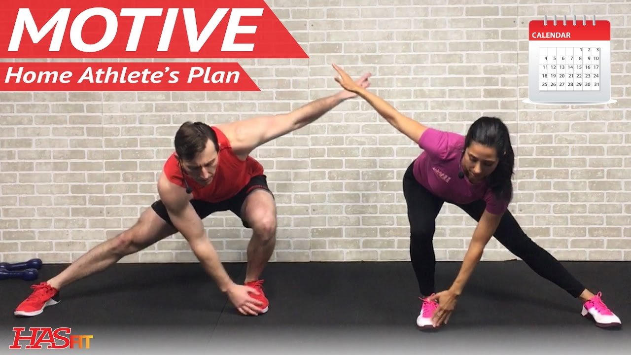 Motive: 30 Day Home Workout Plan & Calendar w/ 20+ FREE Exercise Programs  for Women & Men at Home