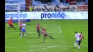 10ª Jornada  Real Zaragoza 3 Mallorca 2 (Gol de Gabi de penalti)