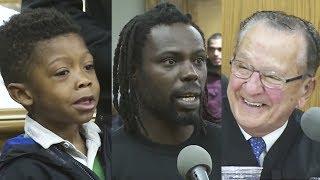 Er erklärt seinen Vater für Schuldig - Die Reaktion des Richters ist grandios! thumbnail