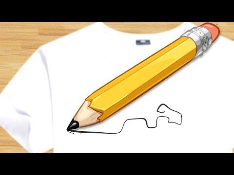 Как отстирать карандаш с одежды