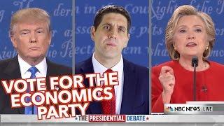 Vote for The Economics Party- Clifford vs Trump & Clinton