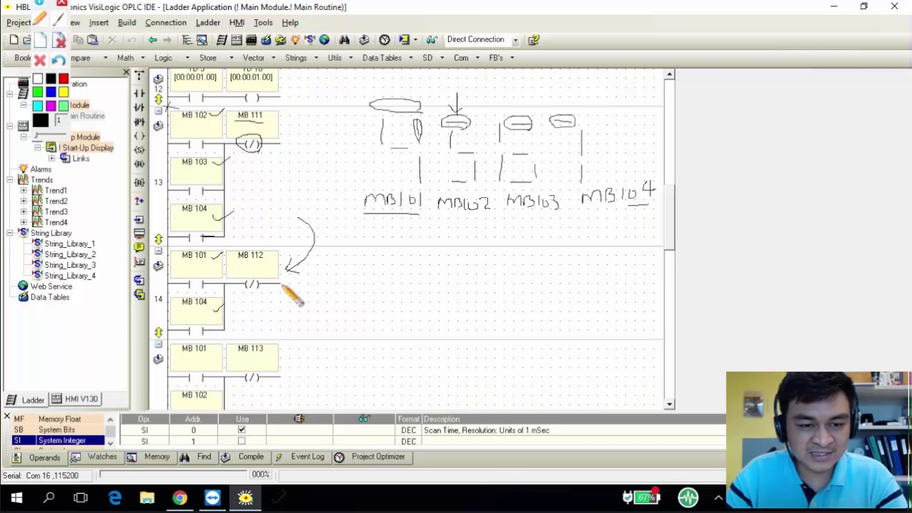 Designing And Developing A Plc Ladder Logic Program Using