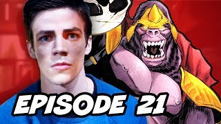 The Flash Episode 21 Grodd Lives Review and Easter Eggs
