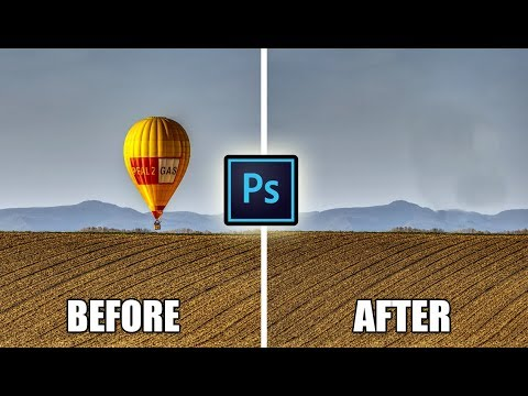ADOBE PHOTOSHOP - How To Remove Unwanted Object From A Photo And Create A Clean Plate in 2 min