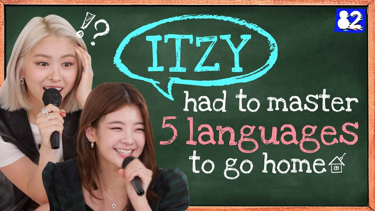 ITZY accepted the global language challenge! I Tongue Twister