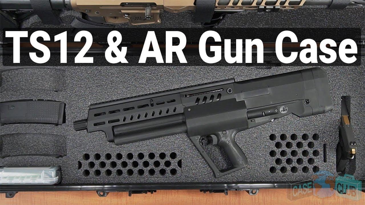 TS12 & AR Gun Case - Video