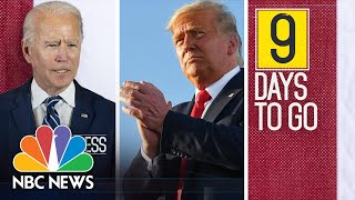 Meet The Press Broadcast (Full) - October 25th, 2020 | Meet The Press | NBC News