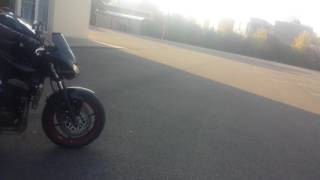 Bruit de kawasaki z750