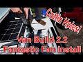 Custom Stealth Astro Van Build 2.2 Fantastic Fan Installation and Templates
