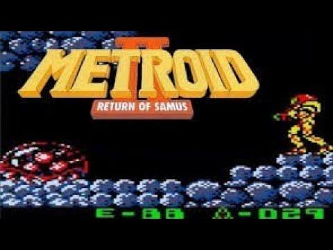 Metroid 2 Return Of Samus Gameplay  / Walkthrough Pt.1 (take 2)