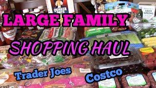 Shopping Haul - Costco and Trader Joe's !!