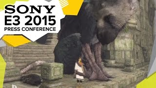 The Last Guardian Gameplay Premiere - E3 2015 Sony Press Conference