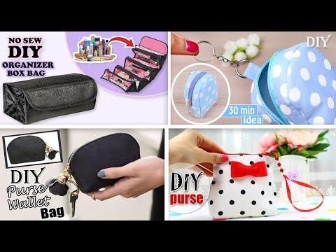 AWESOME DIYs POUCH BAG DESIGNS EVER // Cut & Sew Ideas Purse Bag Tutorials