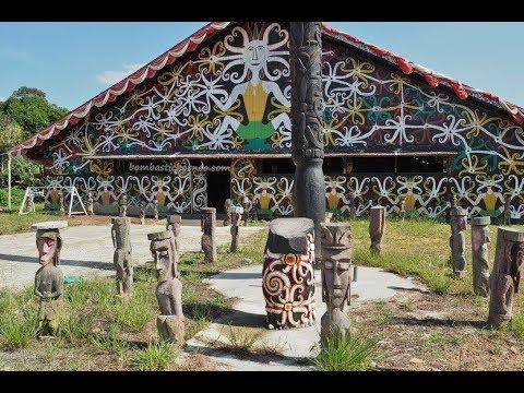 Balai Adat Dayak Kenyah Sungai Bawang, East Kalimantan Borneo Travel 婆罗洲印尼东加里曼丹肯雅原住民文化