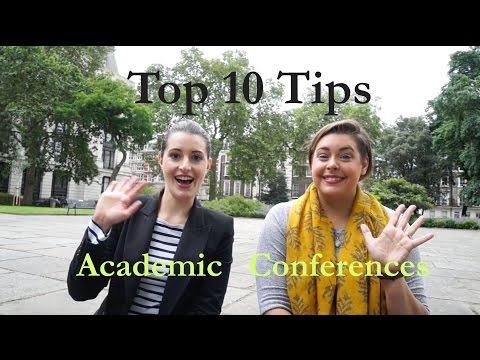 Ten Tips for Academic Conferences, with Abigail Robertson!