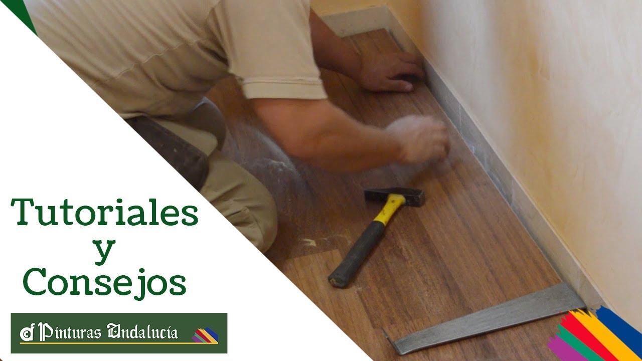 Pinturas andaluc a consejos para la instalaci n de suelo for Como instalar suelo laminado