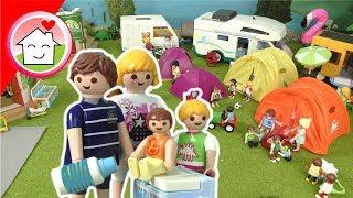 Playmobil Film Familie Haขser - Camping Chaos - Spielzeug Video für Kinder