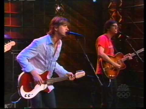 Old 97's - Designs On You - Tonight Show - 7-18-01