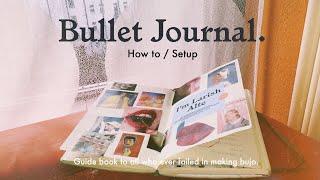 How To SETUP BULLET JOURNAL / สอนทำ bullet journal แบบละเอียด 🍵