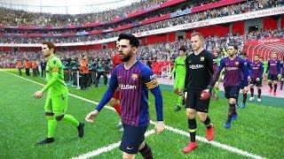 Barcelona vs Levante - Copa del Rey 17 January 2019 Gameplay