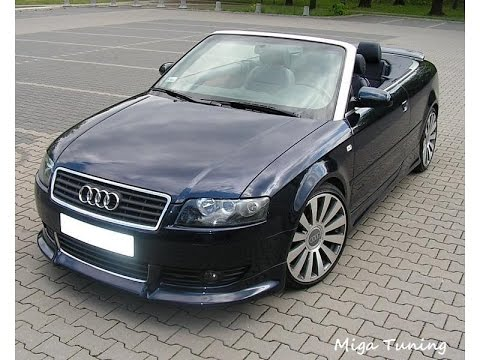 Audi A4 8h Tuning Body Kit
