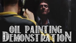 Oil Painting - Advanced Techniques - Chiaroscuro : Selfportrait Demonstration