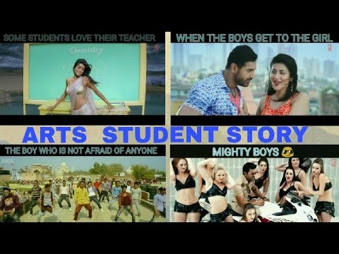 EVERY ARTS STUDENT STORY ON : BOLLYWOOD STYLE