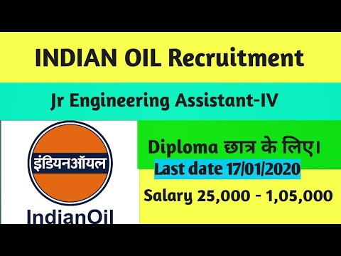 IOCL RECRUITMENT For Diploma Students