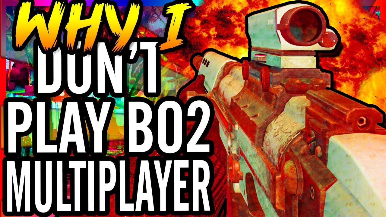 Why I Don't Play Bo2 Multiplayer / Crazy Lobby ~ CoD Black ...