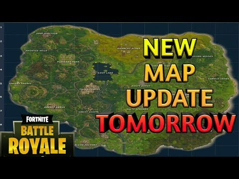 Fortnite Battle Royale PS4 LIVE - NEW MAP UPDATE TOMORROW - SQUADS \ SOLO