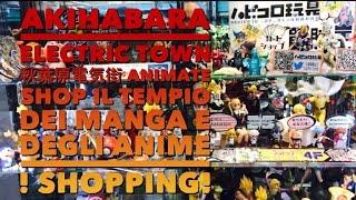 Akihabara Electric Town 秋葉原電気街 Animate Shop Il tempio dei Manga e degli Anime ! Shopping! Giappotour