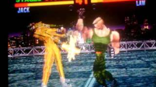 Tekken1 jack playthrough