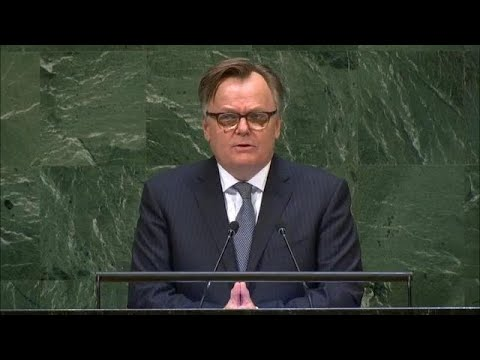 🇨🇦 Canada - Chair of Delegation Addresses General Debate, 73rd Session