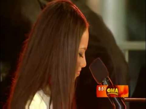 Alicia Keys -  Like You'll Never See Me Again live good morning america GMA
