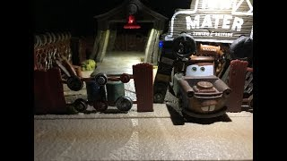 Disney Cars Precision Series Tow Mater Towing and Salvage Review (Mater Monday!)