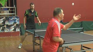 Алексей УЛАНОВ - Сергей ХОМУТОВ Настольный теннис, Table Tennis