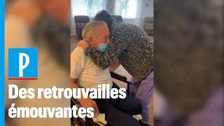 Coronavirus: un couple  d'octogénaires se revoient pour la première fois près sept mois de sépar