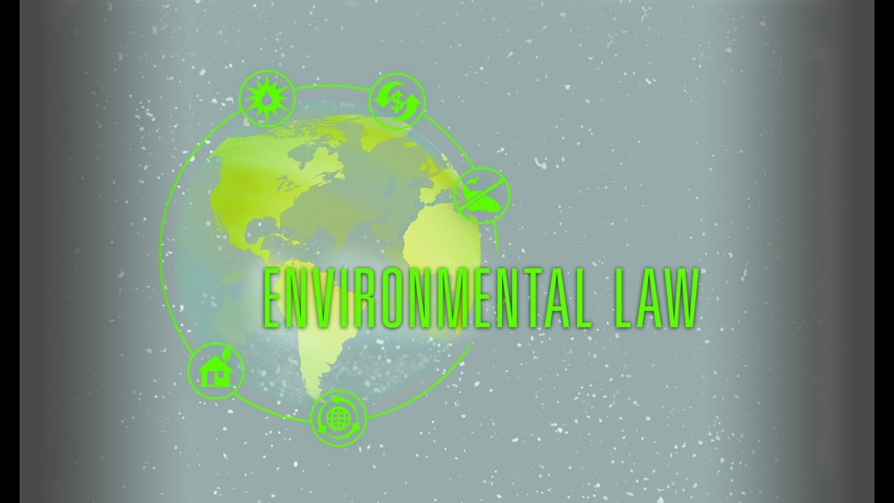 environmental legislation Environmental law involves legal standards that protect and improve the natural environment of the united states specifically, environmental law is designed to reduce the negative impact of human activities both on people and on nature.