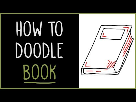 Learn How to Doodle a Book (drawing tips)