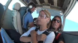 My first time skydiving. Scared as shit