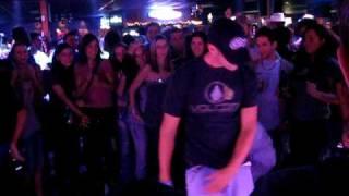 Hip Hop dancing @ a Line Dancing Bar