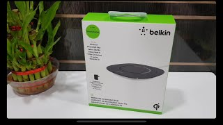 Unboxing Belkin Qi Wireless Charging Pad | iPhone X, iPhone 8 and 8 plus