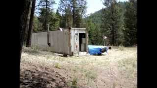 REFRIGERATED CONTAINER CABIN - Simple Forest Living 1 of 2.MPG